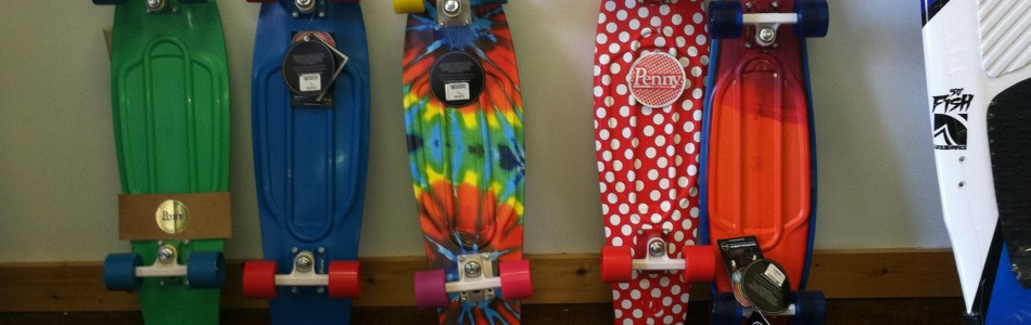Penny Boards at The Board Room