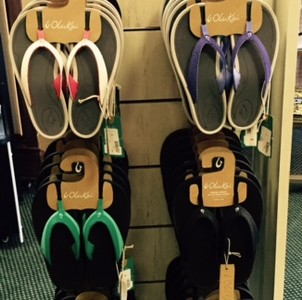Sandals arriving daily from Okukai and Rainbow