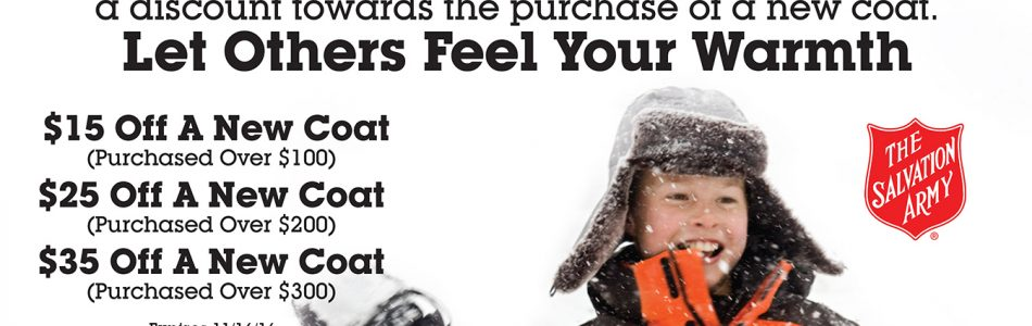 Donate a Coat and Keep the Triad Warm This Winter