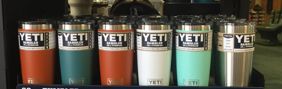 Yeti In Stock! New Colors Available